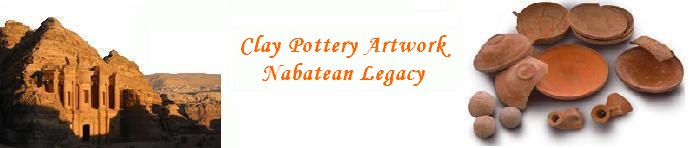 Petra pottery and art pot making crafts